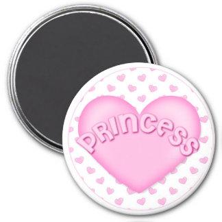 Princess Heart Magnets Locker Magnet File Cabinet