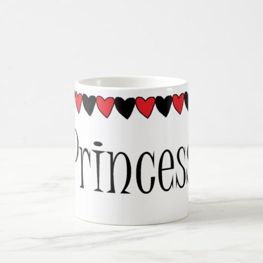 PRINCESS hearts Coffee Mug
