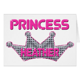 Princess Heather Card