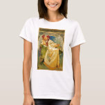 Princess Hyacinth by Mucha T-Shirt