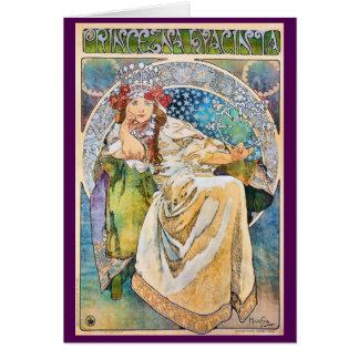 Princess Hyacinth Vintage Theater Advertisement Card