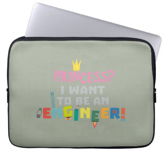 Princess  I want to be an Engnineer Z2yb2 Laptop Sleeve