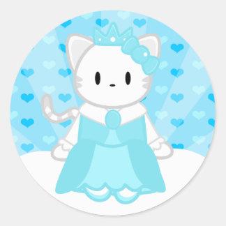 Princess Ice Sticker