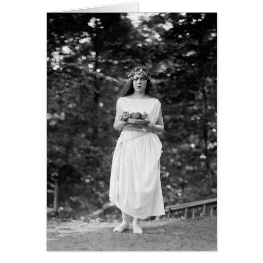 Princess Ida Cantacuzene: 1922 Card