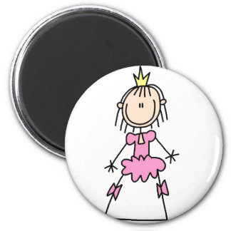 Princess In Ball Gown Magnet