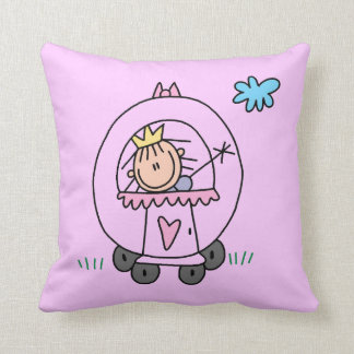Princess in Carriage Pillow
