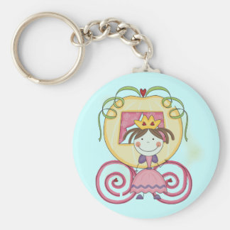 Princess in Carriage T-shirts and Gifts Keychain