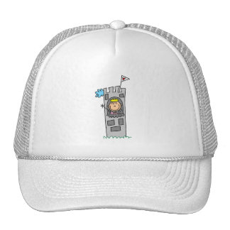 Princess in Castle Tower Mesh Hat