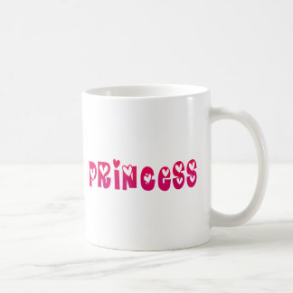 Princess in Hearts Coffee Mug