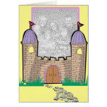 Princess in her Own castle! Card