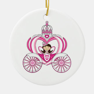 Princess in Royal Carriage Ornament