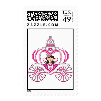 Princess in Royal Carriage Stamp