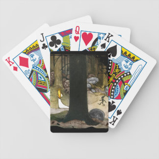 Princess in the Woods Poker Cards