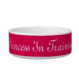 Princess In Training Cat Bowl