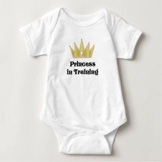 Princess in Training Infant/Toddler Shirt
