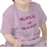 PRINCESS IN TRAINING TEE SHIRTS