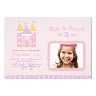 Princess Invitación de la Fiesta de Cumpleaños Card