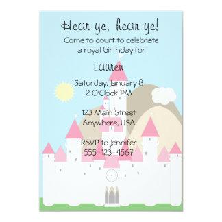 "Princess Invitation 5"" X 7"" Invitation Card"