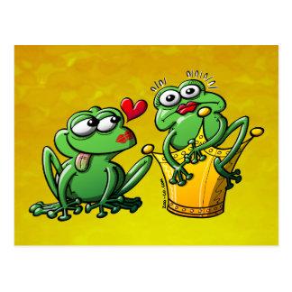 Princess is a Frog Now Postcard