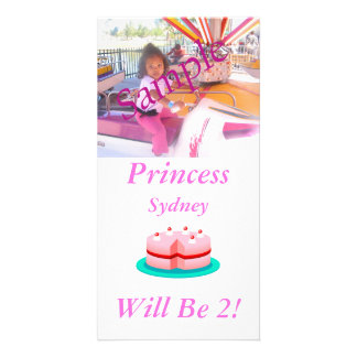 Princess is Customizable Today Card