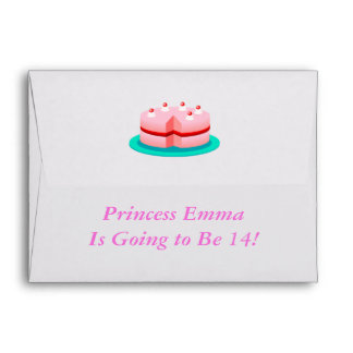 Princess is Customizable Today Envelope