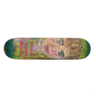 Princess Isabella Meets the Sky Skateboard Deck