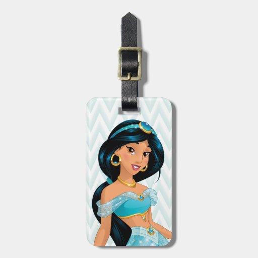 Princess Jasmine Luggage Tags