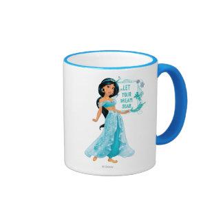 Princess Jasmine Ringer Coffee Mug