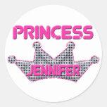 Princess Jennifer Stickers