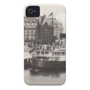 Princess Joan at Dock Vintage Photograph iPhone 4 Cover