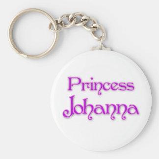 Princess Johanna Basic Round Button Keychain