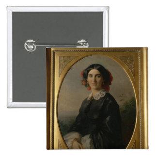 Princess Johanna von Bismarck, 1857 Pinback Button