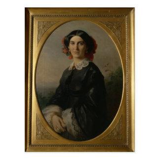 Princess Johanna von Bismarck, 1857 Postcard