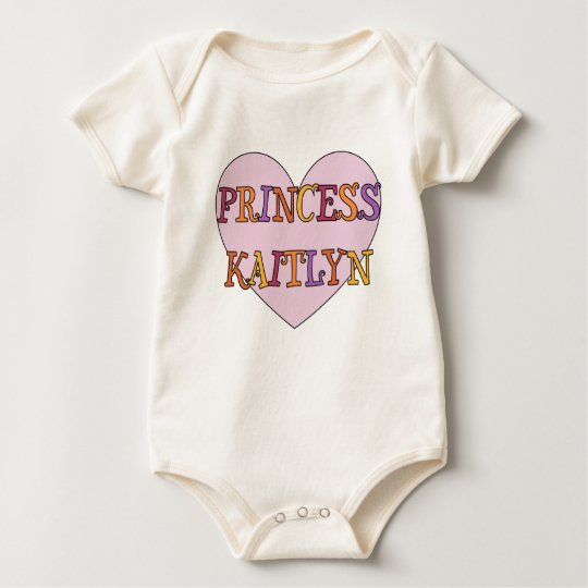 Princess Kaitlyn Baby Bodysuit