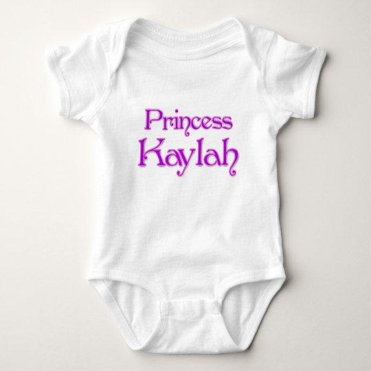 Princess Kaylah Baby Bodysuit