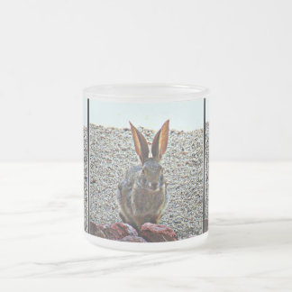 Princess Keke Bunny Frosted Glass Mug