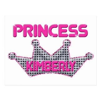 Princess Kimberly Postcard