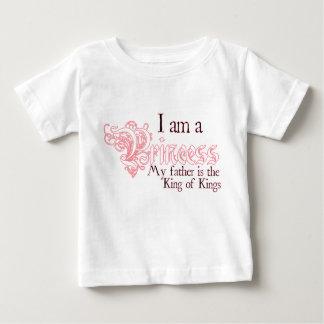 Princess King of Kings baby girl tee