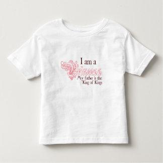 Princess King of Kings Toddler Girls T-shirt
