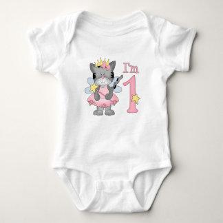 Princess Kitty 1st Birthday Shirts
