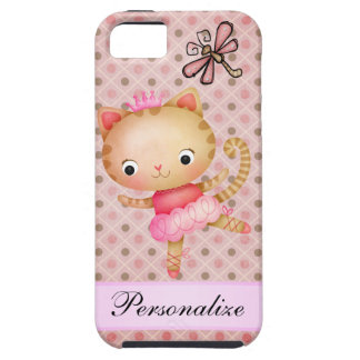 Princess Kitty Ballerina & Dragonfly iPhone 5 iPhone 5 Covers