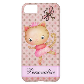 Princess Kitty Ballerina & Dragonfly iPhone 5 iPhone 5C Cover
