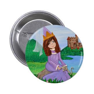 Princess & kitty buttons