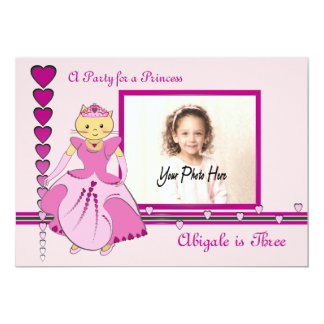 Princess Kitty Photo Card