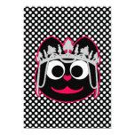 Princess Kitty Pink 5x7 Paper Invitation Card