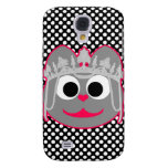 Princess Kitty Pink - Gray Samsung Galaxy S4 Cover
