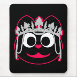Princess Kitty Pink Mouse Pad