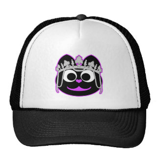 Princess Kitty Purple Trucker Hat