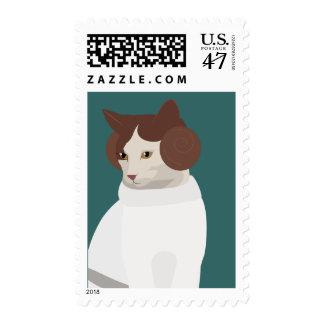 Princess Kitty Stamp