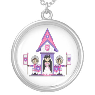 Princess & Knights at Mini Castle Necklace